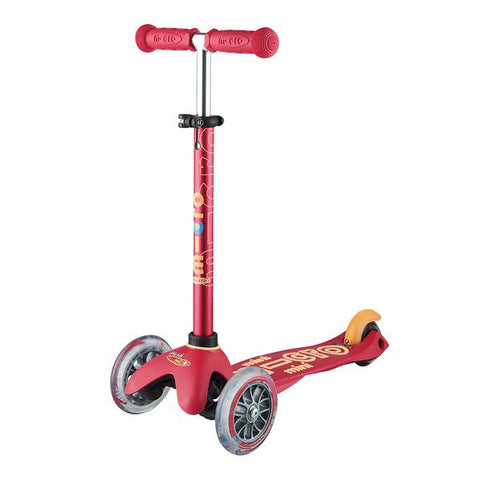 Mini Deluxe Rubin Red / Scooter de niño