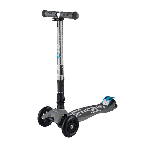 Micro Scooter Maxi Deluxe Plegable Gris