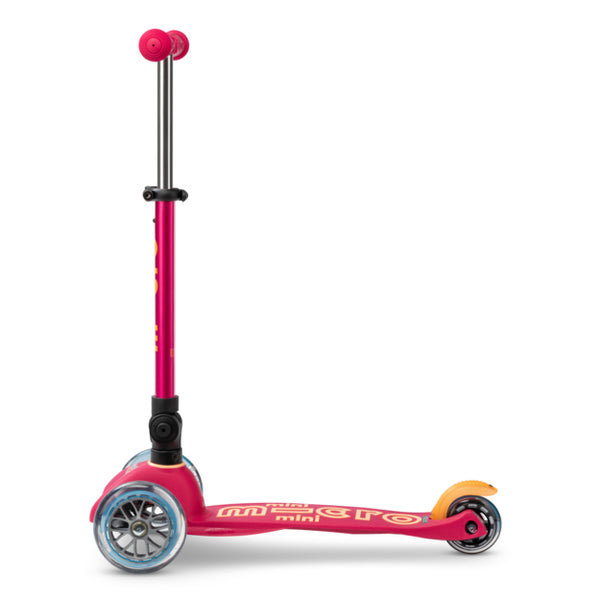Micro Scooter Mini Deluxe PLEGABLE Ruby Red