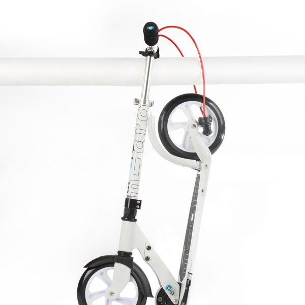 White Interlock / Scooter de adulto