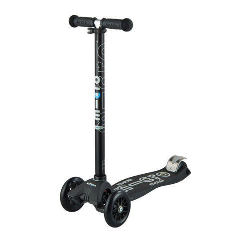 Micro Scooter Maxi Deluxe Negro Gris