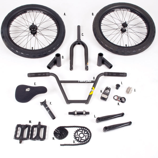 2018 STOLEN/FICTION FREECOASTER BUILD KIT