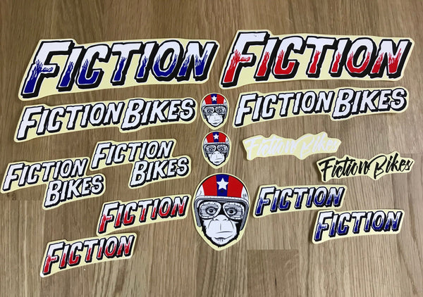 FICTION STICKER PACK