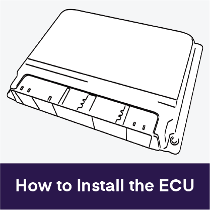 how to install the ecu