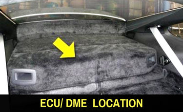 Porsche 964 ECU DME Location