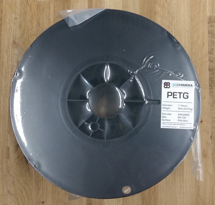 PETG Filament - 1.75mm, 3DC (LARGE SPOOLS) - 3DChimera
