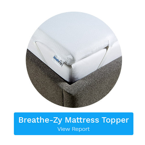 Breathe-zy Anti Suffocation Mattress Topper Report Link