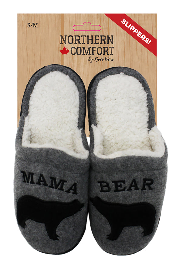 Mama Bear Slippers - Little Moose and Bear Company