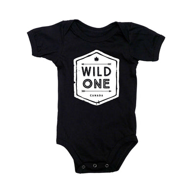 Wild One Short Sleeve Bodysuit