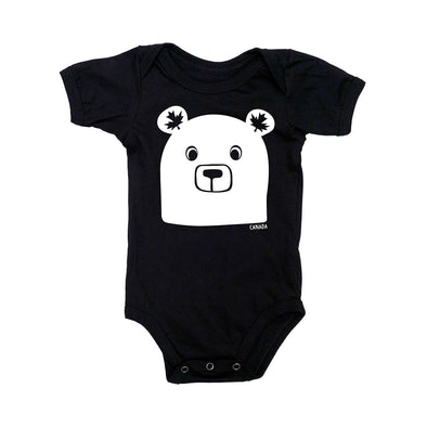 Bea the Bear Short Sleeve Bodysuit