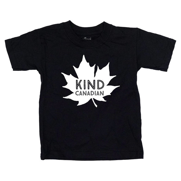 Kind Canadian Kids Tee
