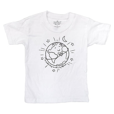 Smallest Things, Big Difference Kids Tee