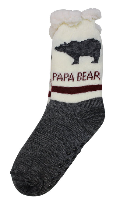 Papa Bear Socks - Little Moose and Bear Company