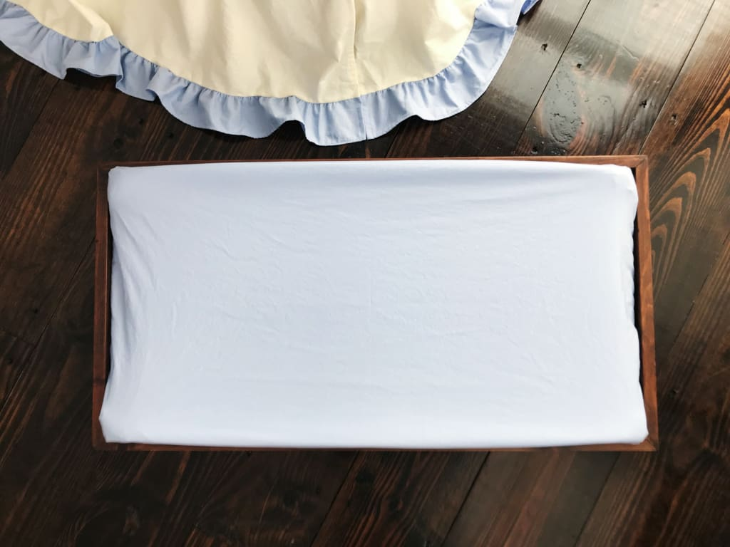 Baby Blue | Changing Pad Cover
