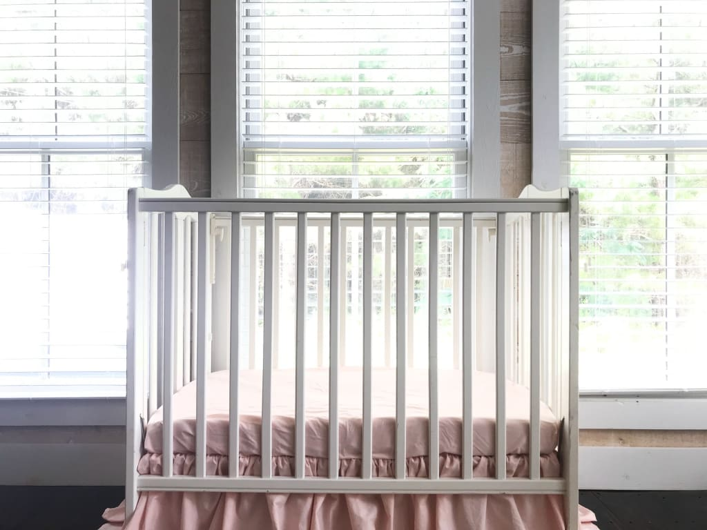 Ballet Slipper | Mini Crib Sheet