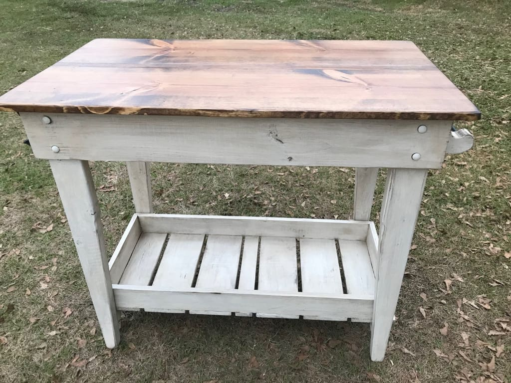 Farm Table Style Kitchen Island