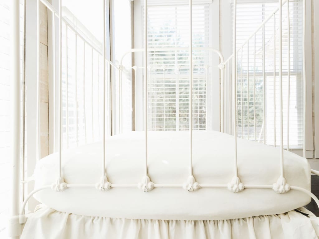 Ivory | Fitted Crib Sheet