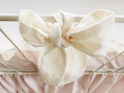 Ivory | Large Crib Bow