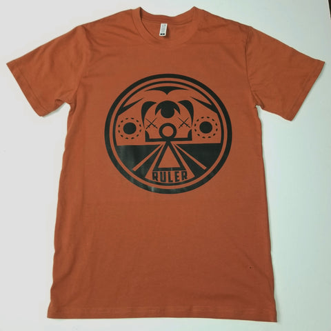 Copper Rust War Goddess Tee