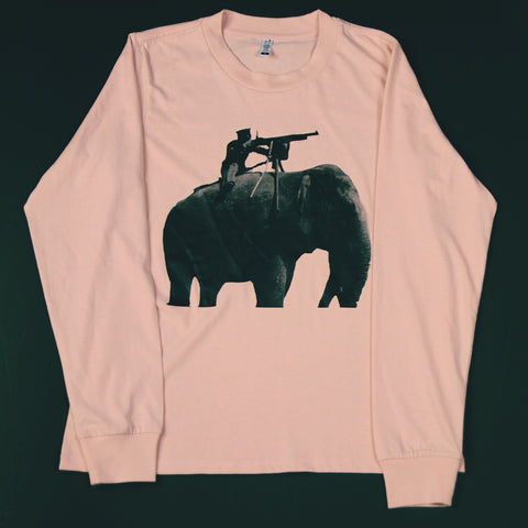 Pink Shooter Long Sleeve Tee