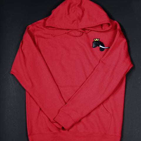 Red Infantry Hoodies