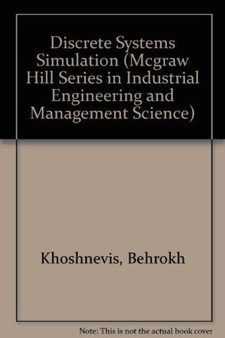 Discrete Systems Simulation/Book and Disk (MCGRAW HILL SERIES IN INDUSTRIAL ENGINEERING AND MANAGEMENT SCIENCE)
