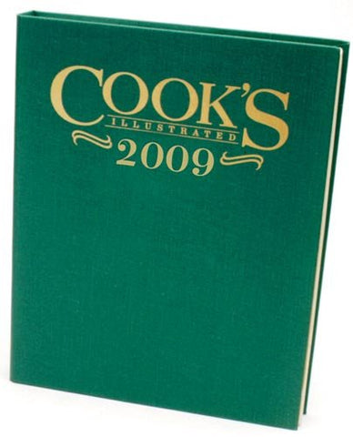 Cook's Illustrated 2009 (Cook's Illustrated Annuals)