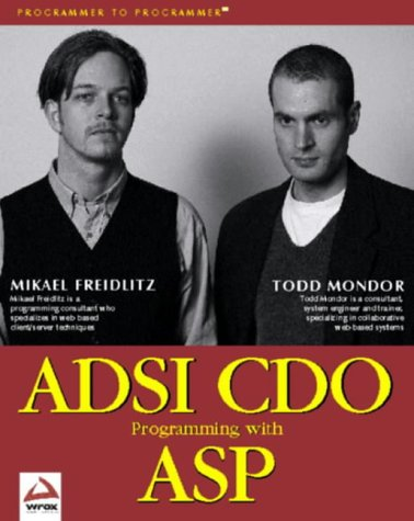 ADSI CDO Programming with ASP