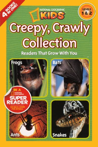 Creepy Crawly Collection (Turtleback School & Library Binding Edition) (National Geographic Kids: Levels 1 & 2 (PB))