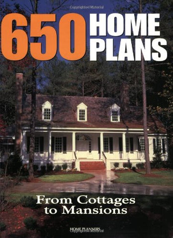 650 Home Plans: From Cottages to Mansions