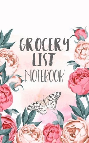 Grocery List Notebook: Grocery List Book Planner (Blank Grocery List Planner & Budget Tracker)(V3)