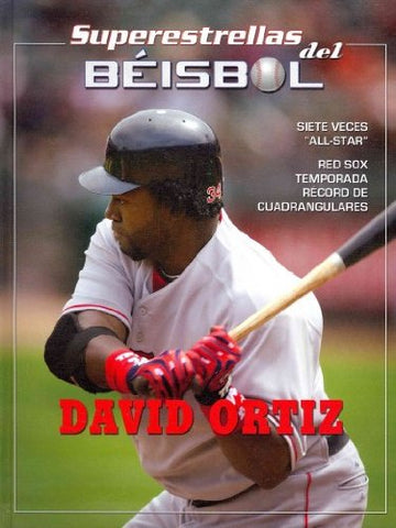 David Ortiz (Superestrellas del Béisbol) (Spanish Edition)