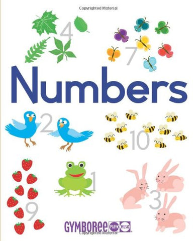 Gymboree Numbers: Learn to Count in Five Languages (Gymboree Play & Music) (English, Spanish, French, German and Italian Edition)