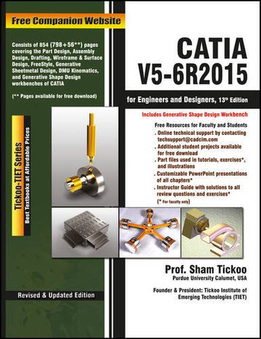 Catia V5-6r2015 for Engineers and Designers, 13ed