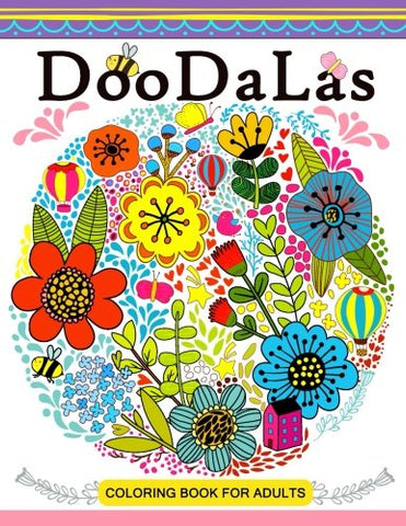 DooDaLas Coloring Book For Adults: Mandala with Doodle Design for all ages