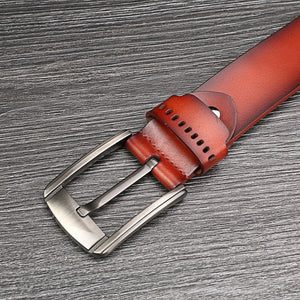 Men's Vintage 100% Genuine Leather Belt