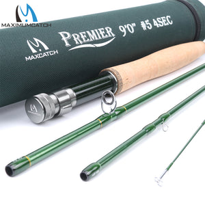 Maximumcatch Carbon Fiber Fast Action Fly Rod With Cordura Tube