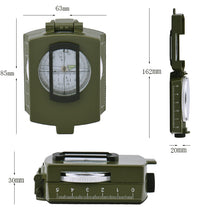 Multifunctional Military Style Compass