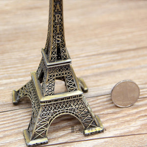 "6"" Retro Bronze Tone Eiffel Tower"