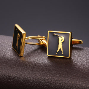 Men's Golfing Cuff links