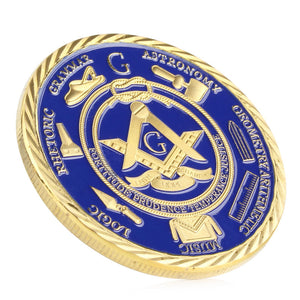 Free-Mason Under Fatherhood of God Commemorative Coin