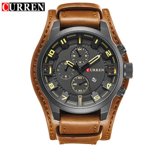 CURREN 8225 Men's Military Watch