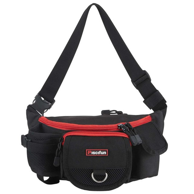 Piscifun Adjustable Waist Fishing Tackle Bag