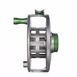 Piscifun Fly Fishing Reel Spare Spool - Sword In CNC-machined Aluminium Gunmetal Finish, 3/4, 5/6, 7/8, 9/10 WT Spool