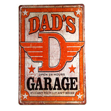Dad's Garage Sign