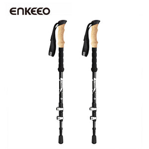 Enkeeo Ultralight Telescopic Trekking Poles