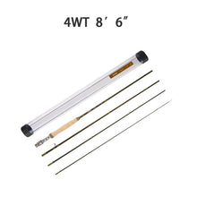 "Piscifun 4-Pieces Carbon Fiber 8'6"" ~ 9' Length 4/5/6/7/9/ WT Slow-Hard Fly Fishing Rod With Dural PVC Tube Portable Fly Rod"