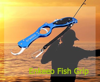 Enkeeo Aluminum Fish Lip Gripper