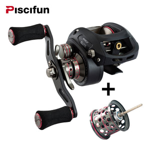 Piscifun Elite 7.3:1 High Speed Baitcasting Reel for Freshwater