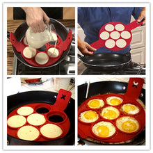 7 Hole Silicon Pancake Mold
